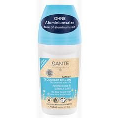 Sante, Шариковый дезодорант для чувствительной кожи с Био-Алоэ Вера и Шалфеем, 50мл