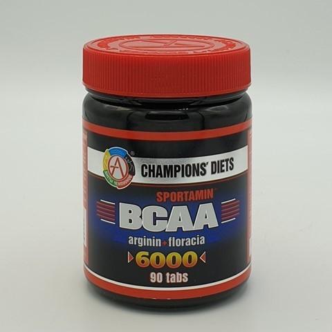 Аминокислотный комплекс BCAA 6000 СПОРТАМИН Академия-Т, 90 табл