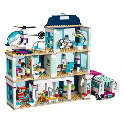LEGO Friends: Клиника Хартлейк-сити 41318 — Heartlake Hospital — Лего Френдз Друзья Подружки