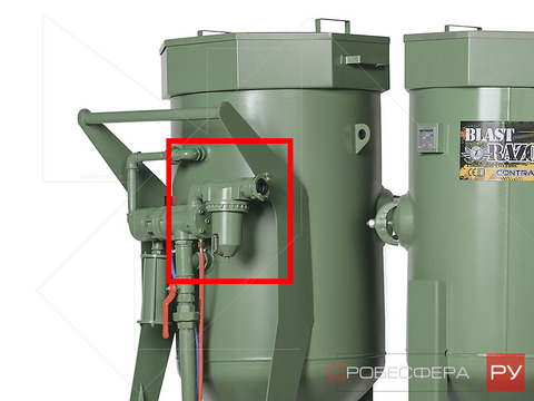 Фильтр-сепаратор для пескоструйных аппаратов CAF-3