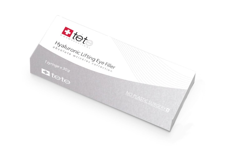 Гиалуроновый филлер для век с подтягивающим эффектом / TETe Hyaluronic lifting eye filler, 30 ml