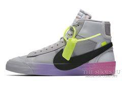 Кроссовки Мужские Off White x Nike Blazer Mid Queen