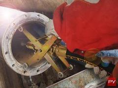 Устройство для очистки труб изнутри РВТ-1