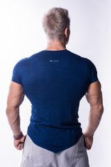 Мужская футболка Nebbia AW Atypical 722 jeans blue