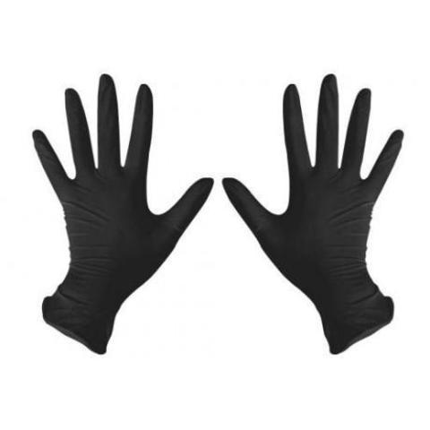 Перчатки нитриловые размер М, 100 шт.