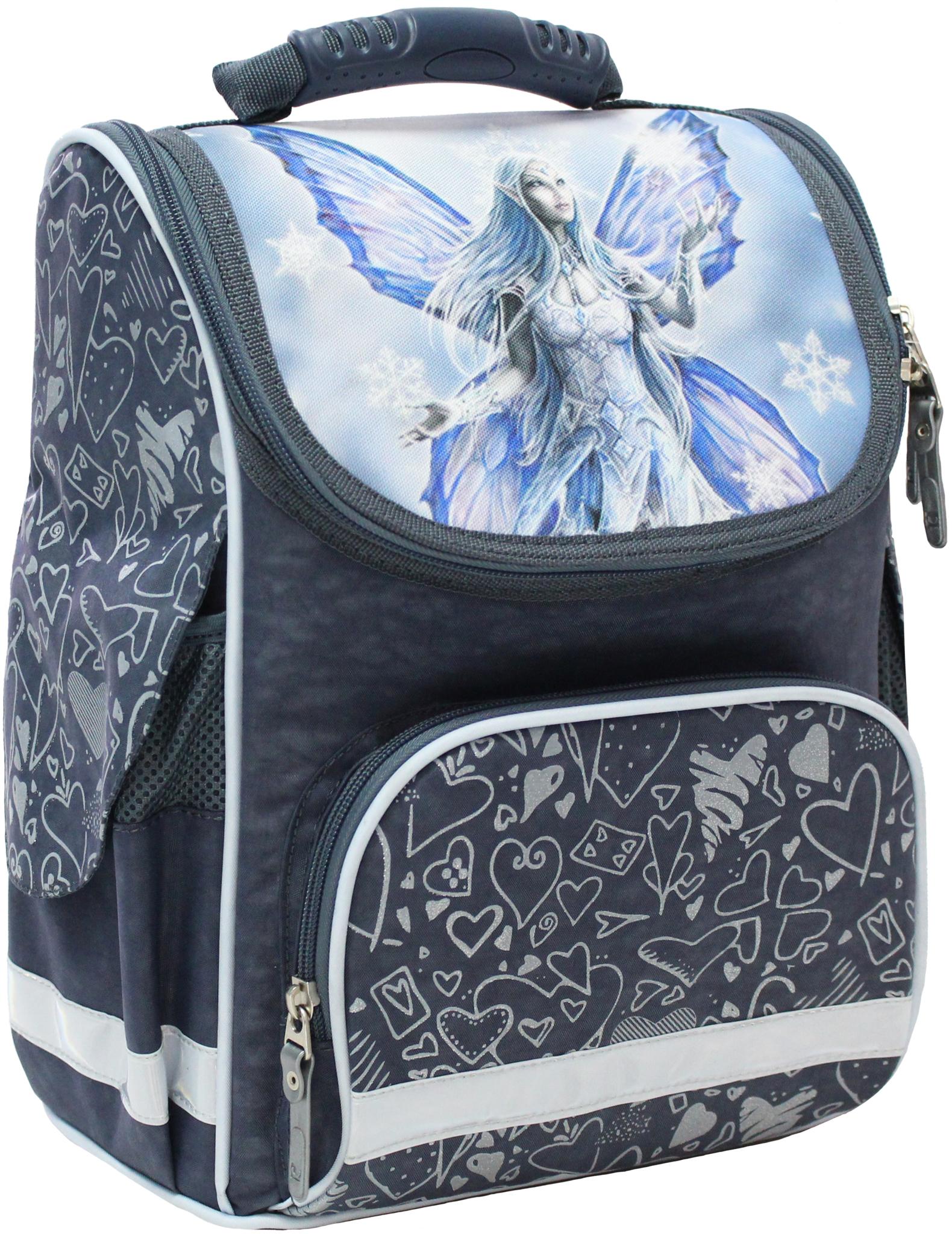 Школьные рюкзаки Рюкзак школьный каркасный Bagland Успех 12 л. 321 сірий 94 д (00551702) IMG_4729.JPG