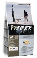 Корм для взрослых собак всех пород, Pronature Holistic, здоровье кожи и шерсти, с лососем и рисом
