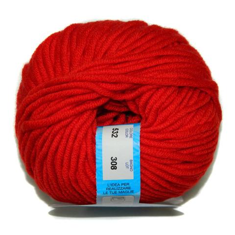 Купить Пряжа BBB Merino 12-50 Код цвета 0532 | Интернет-магазин пряжи «Пряха»
