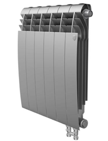 Радиатор Royal Thermo BiLiner 500 V Silver Satin - 4 секций