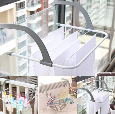 Сушилка для одежды на дверь, балкон переносная