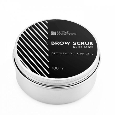Скраб для бровей Brow Scrub, 100 мл
