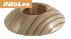 Обвод для труб Rico Leo Дуб шато d- 16 мм (2шт)