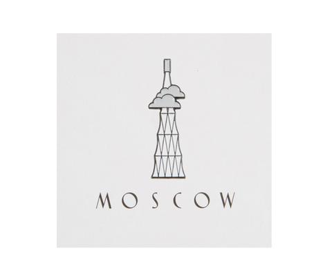 Значок металлический Шуховская башня