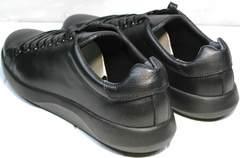 Чисто черные кроссовки мужские GS Design 5773 Black