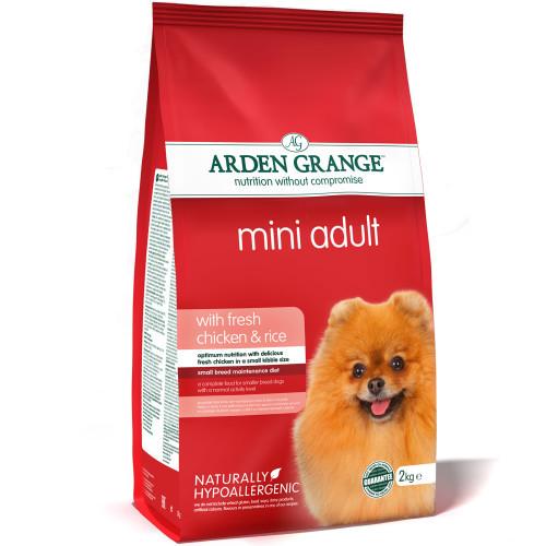 Arden Grange Сухой корм для взрослых собак мелких пород, Arden Grange Adult Dog Chicken & Rice Mini, с курицей и рисом Arden-Grange-Mini-Adult-Chicken-Rice-2kg.jpg