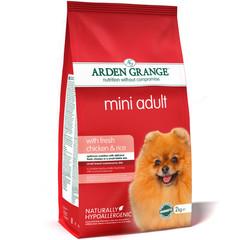 Сухой корм для взрослых собак мелких пород, Arden Grange Adult Dog Chicken & Rice Mini, с курицей и рисом