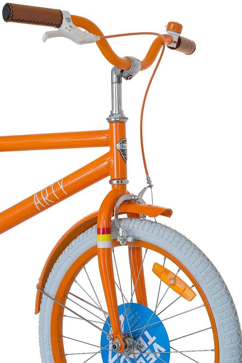 Велосипед Dorozhnik Arty - руль, вилка, передний тормоз, колесо