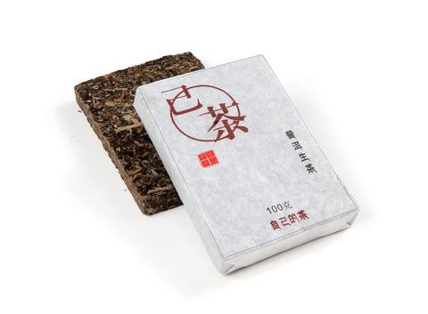 Шен Пуэр Цзи Чха  / кирпич 100 г,  фаб.Юндэ, 2013 г.