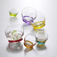 Набор цветных стаканов Crystalex Bohemia Crazy, 390 мл, 6 шт, фото 2