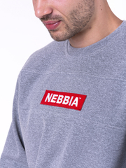 Мужская толстовка Nebbia 148 grey