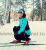 Лыжная разминочная куртка One Way - Cata turquoise женская