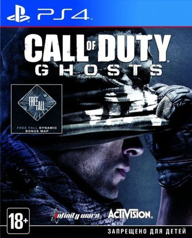 PS4 Call of Duty: Ghosts (английская версия)