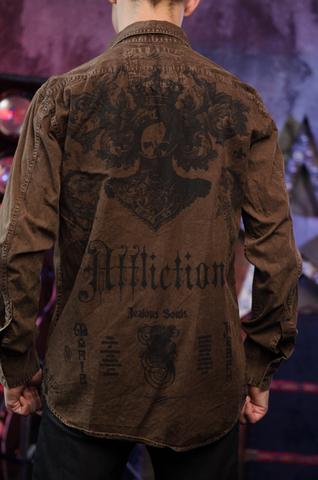 Affliction рубашка 225582
