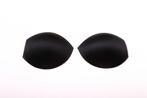 Чашки без пуш-апа чёрные (70В-75А-65С)