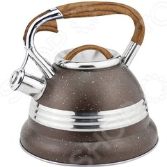 Чайник из нержавеющей стали со свистком Eurostek ESK-3070