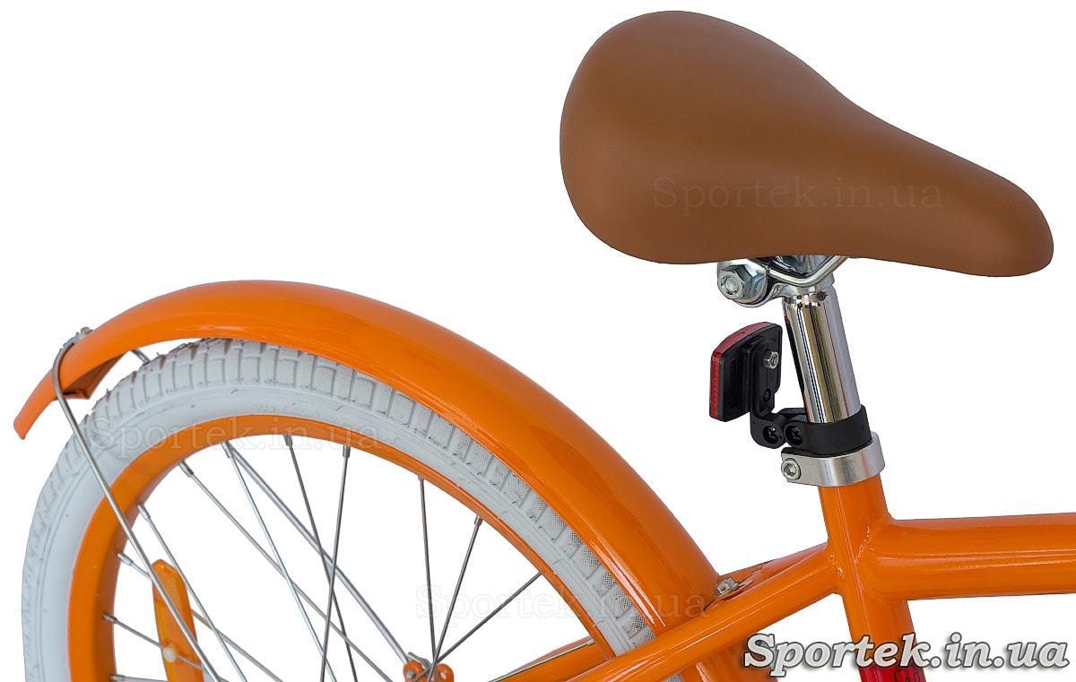 Велосипед Dorozhnik Arty - седло, крыло