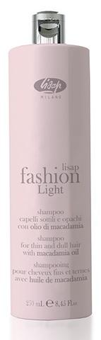 Экстра мягкий очищающий шампунь для тонких и ослабленных волос - Lisap Fashion Light Shampoo