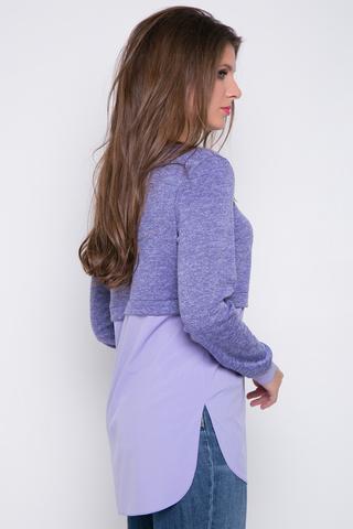 <p><span>Комфортная туника в очень модном оформлении. Отличное решение для прохладных летних вечеров. Длины: 44-46=84см; 48-50=85см</span></p>