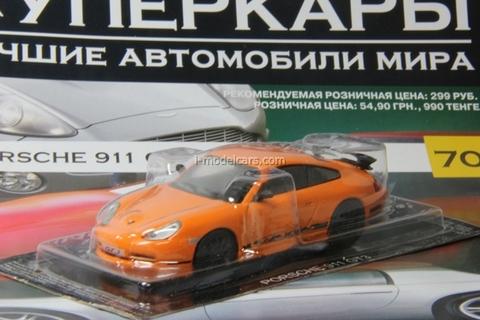 Porsche 911 GT3 1:43 DeAgostini Supercars #70