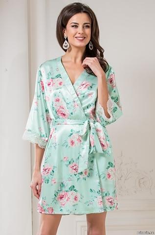 Халат–кимоно Mia-Amore 3023 ROSALINDA (70% шелк)