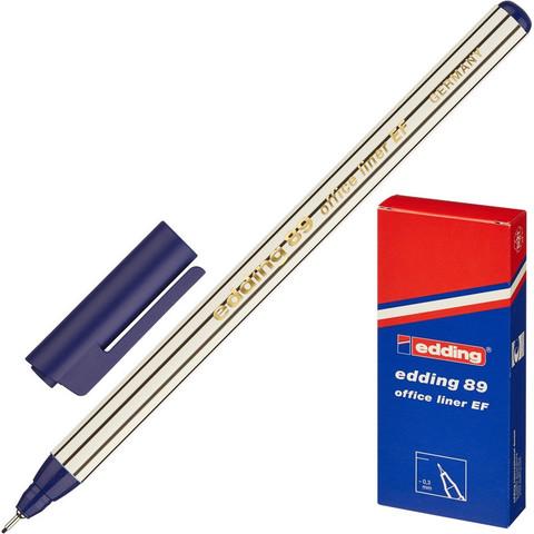 Линер Edding E-89/003 синий (толщина линии 0.3 мм)