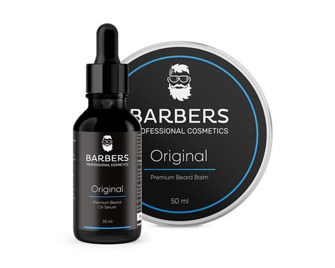 Набор для ухода за бородой Barbers Original 80 мл (1)
