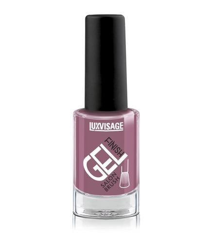 LuxVisage Gel Finish Лак для ногтей тон 23 (лилово-сливовый ) 9г