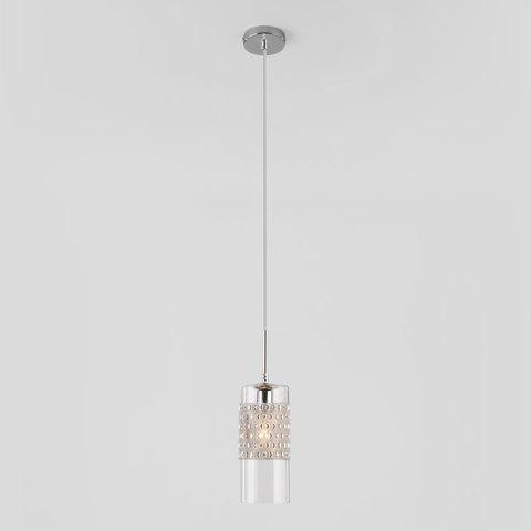 Подвесной светильник со стеклянным плафоном 50148/1