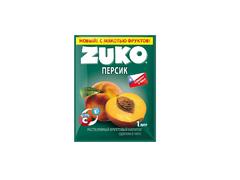 Растворимый напиток Zuko Персик (блок 12 пакетов)