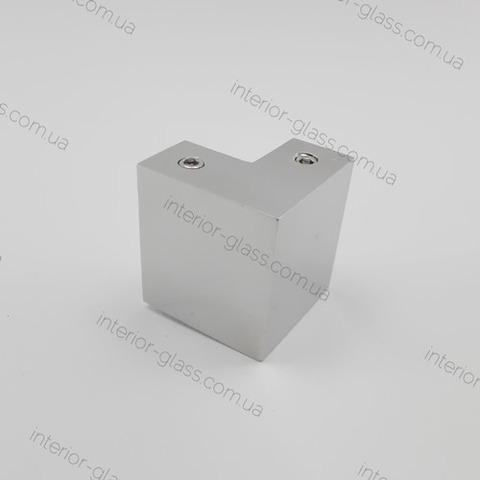 Соединитель трубы (штанги) 30*10 мм 90° ST-305 PSS нерж. сталь