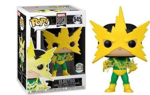 Marvel 80th Electro Funko Pop! Vinyl Figure || Электро