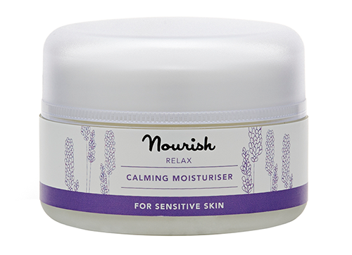 Успокаивающий крем для чувствительной кожи, Nourish