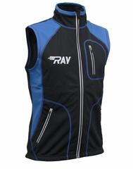 Лыжный жилет RAY STAR WS Black-Blue