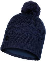 Шапка вязаная с флисом Buff Hat Knitted Polar Savva Night Blue