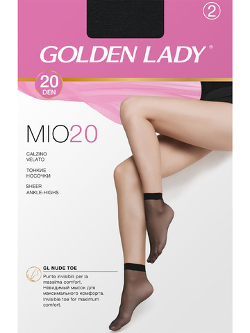 Носки Mio 20 (2 пары) Golden Lady
