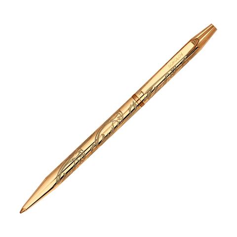 Ручка-сувенир из золоченого серебра с гравировкой арт.93250006