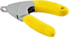 Когтерез-гильотина для собак, Hunter Smart, желтый/серый
