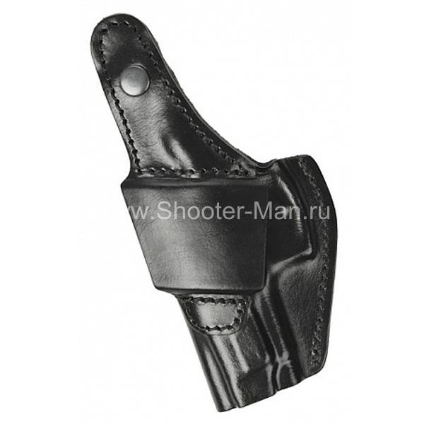 Кожаная кобура для пистолета Ярыгина модель № 8 МОДИФ. 2011 г Стич Профи фото 5