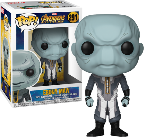 Фигурка Funko POP! Bobble: Marvel: Avengers Infinity War: Ebony Maw 26901