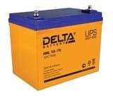 Аккумулятор DELTA HRL 12-75 ( 12V 75Ah / 12В 75Ач ) - фотография
